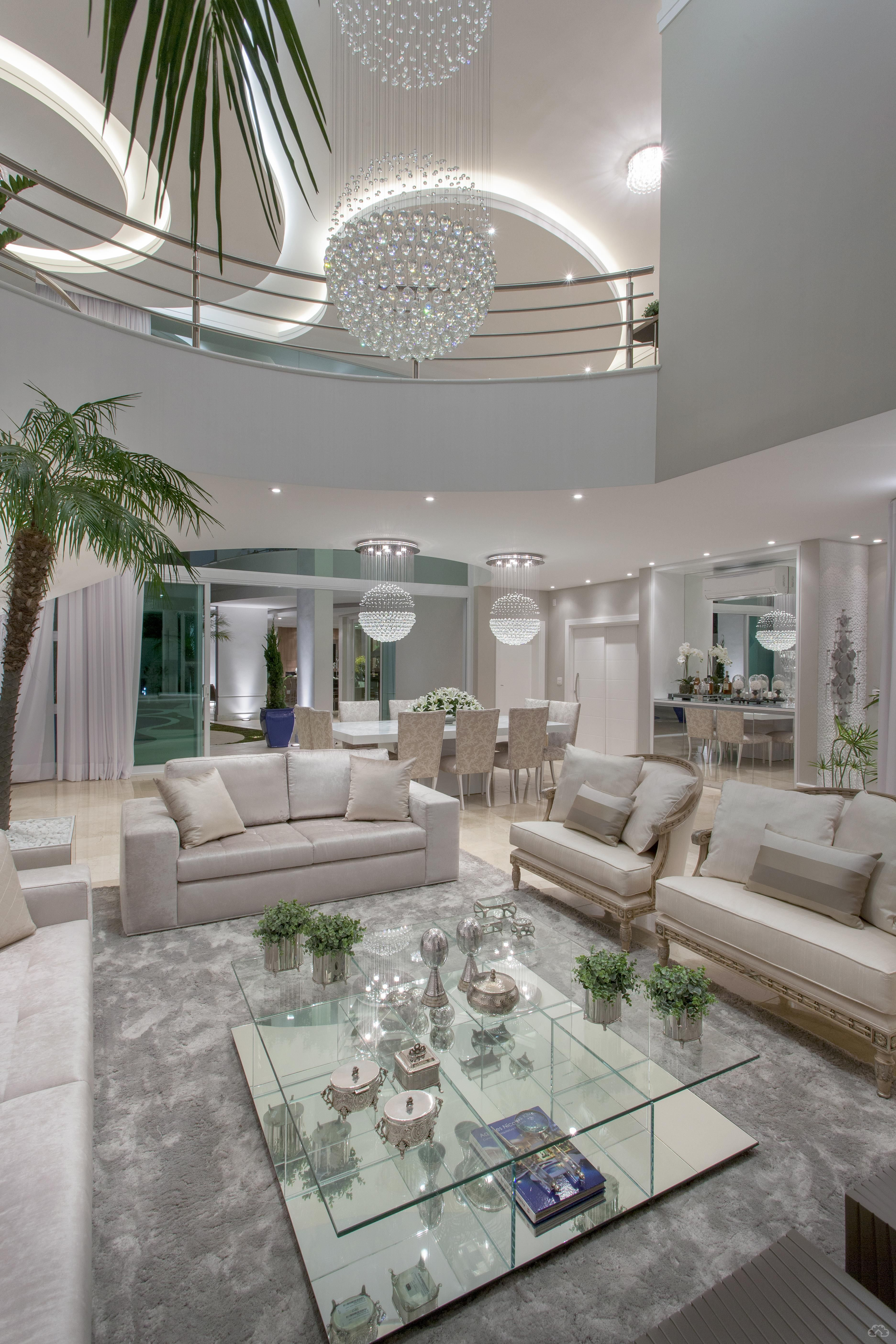 Decorsalteado Casas Luxuosas Interiores Sala De Luxo