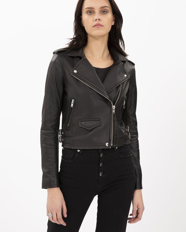 Iro Permanent Collection Ashville Leather Jacket Studded Leather Jacket Vegan Leather Jacket Leather Jacket [ 1500 x 1200 Pixel ]