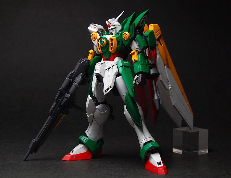 MG 1/100 Wing Gundam Fenice: Custom Build by haruka_a Photoreview Big Size Images