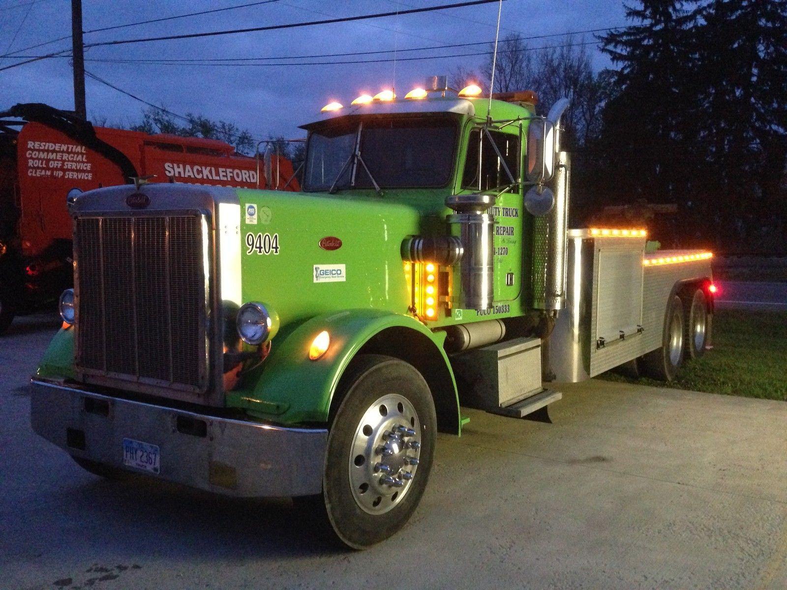 1985 peterbilt 359 wrecker truck