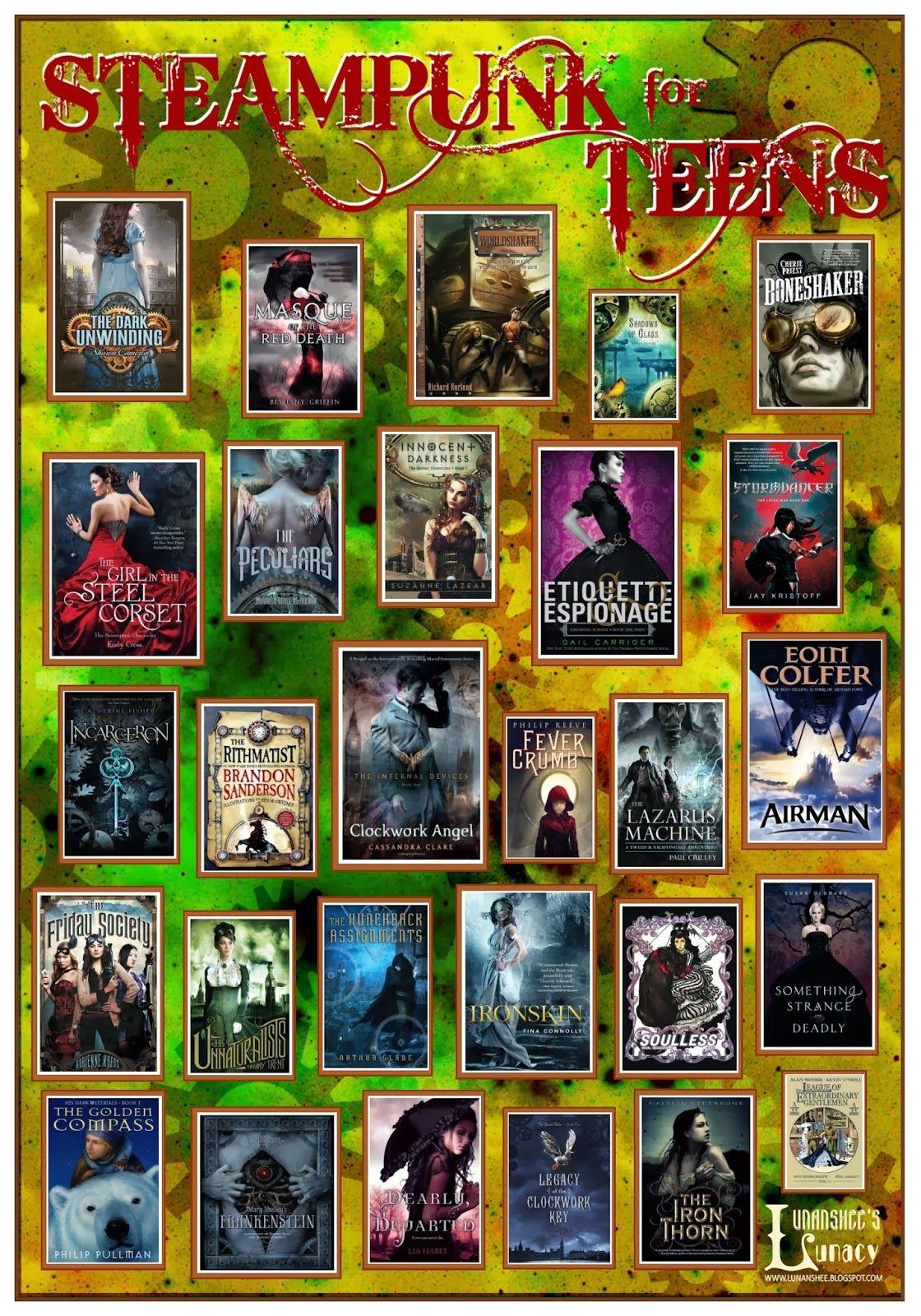 Lunanshee' Lunacy Steampunk Teens Book Poster