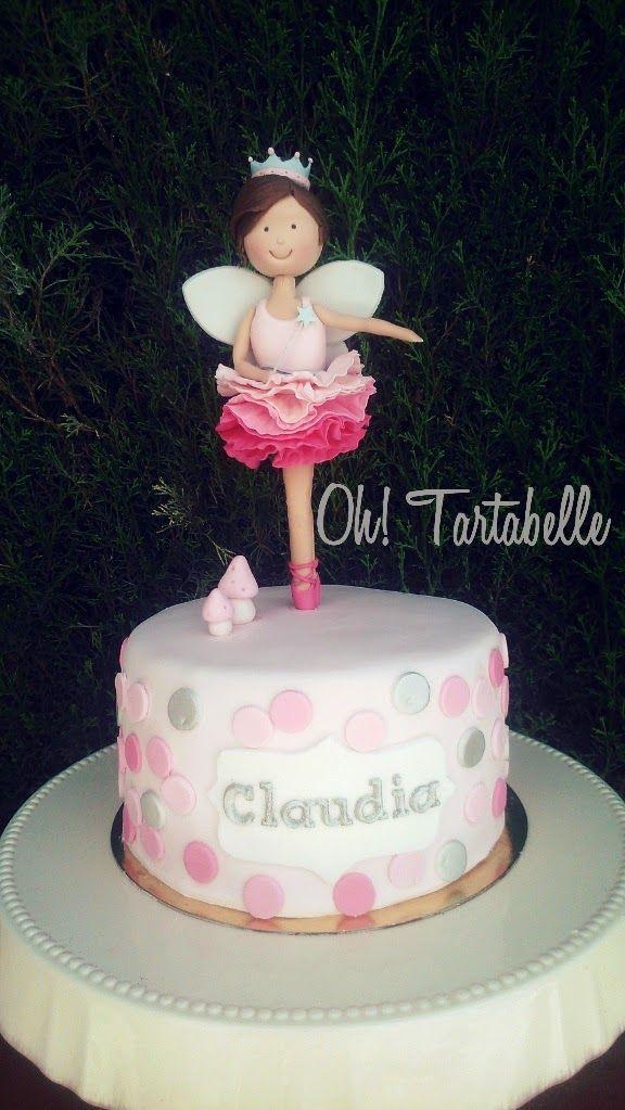 Tarta Hada Bailarina, cake fairy