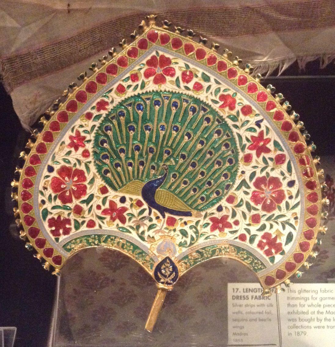 Location Victoria Albert museum London  Turban ornament (jigha)