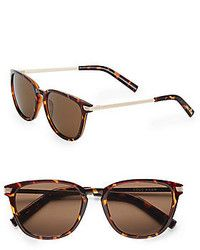 0268d29a6a1 Cole Haan 55mm Wayfarer Sunglasses