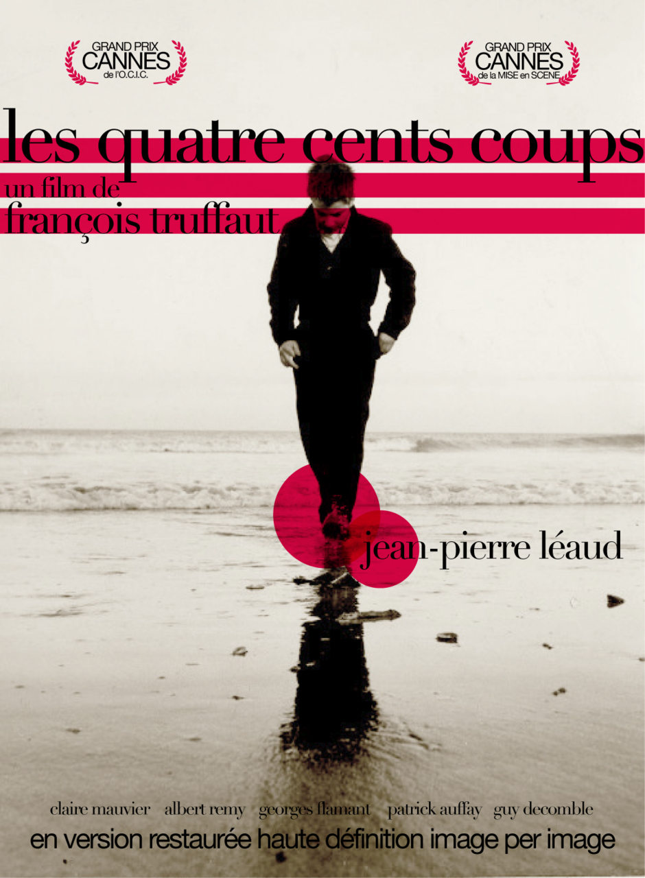 Francois truffaut 1959 the 400 blows les quatre cents coups m144 movie film - Les quatre cents coups film ...