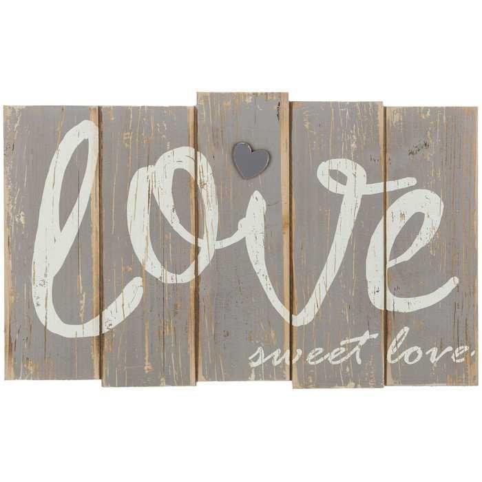 Love Sweet Love Rustic Wood Plaque Rustic Wood Wall Decor Heart Wall Decor Rustic Wood Walls