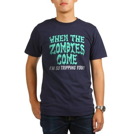 When The Zombies Come T-Shirt #love #lovezombies #zombiesrule