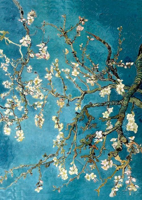 Vincent Van Gogh ~ Blossoming Almond Tree   ARTQ™     Pinterest ...
