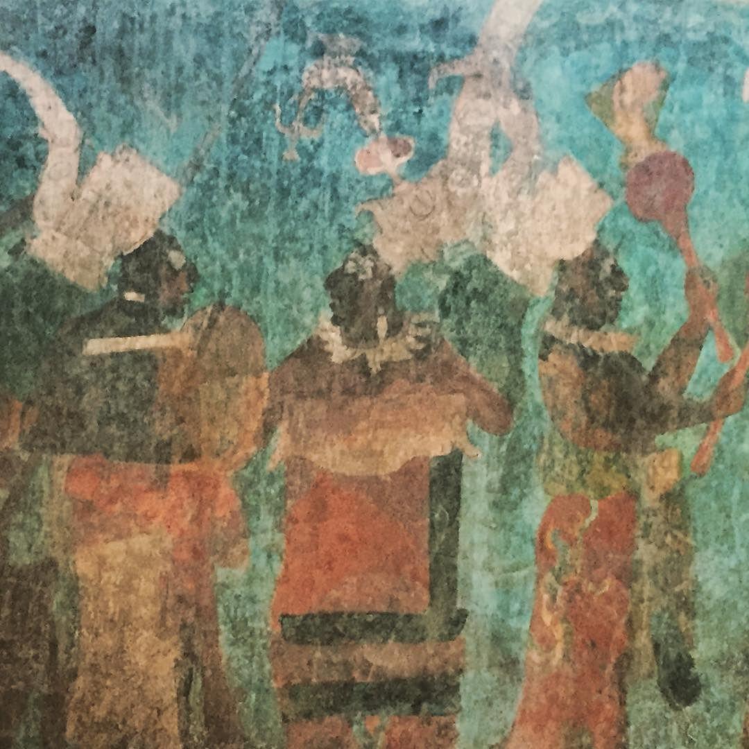 Pinturas Murales De Bonampak Chiapas Ces Peintures Du Viii Eme