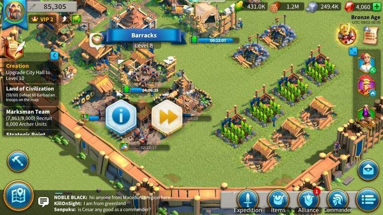 How To Get Level 2 Troops In Rise Of Kingdoms