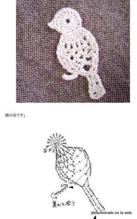 Solo esquemas y diseños de crochet: animales | De tocho ideas ...