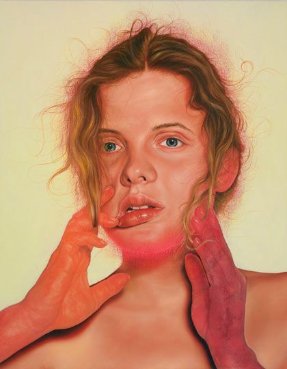 Who is a modern portraiture painter?