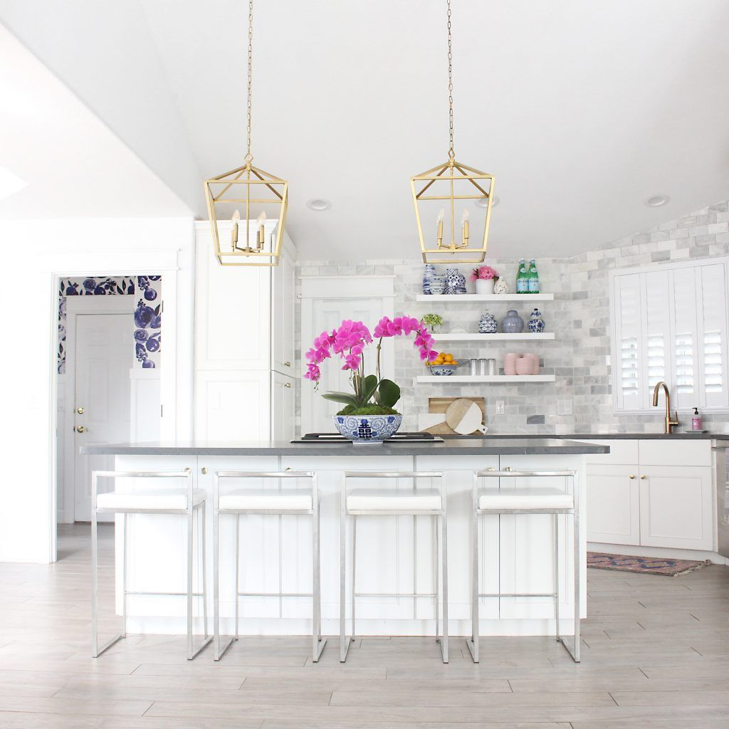 Kitchen Island Lighting Ideas And Height Diagrams For