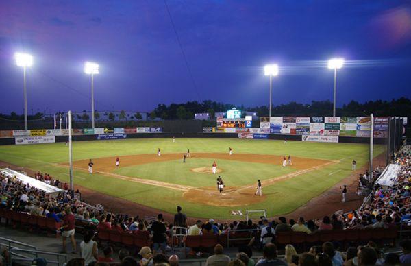 L P Frans Stadium Hickory Crawdads L P Frans Stadium Stadium Baseball Stadium Minor League Baseball