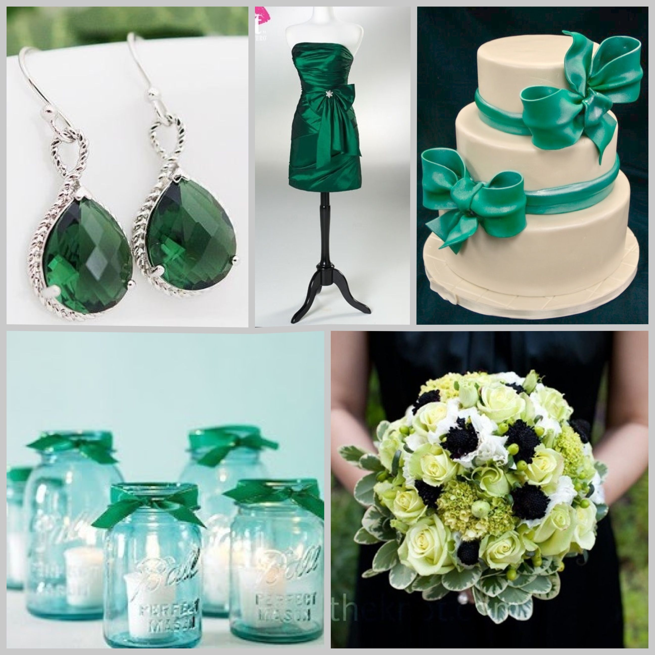Emerald Wedding Boda Color Verde Esmeralda Casamento Festa