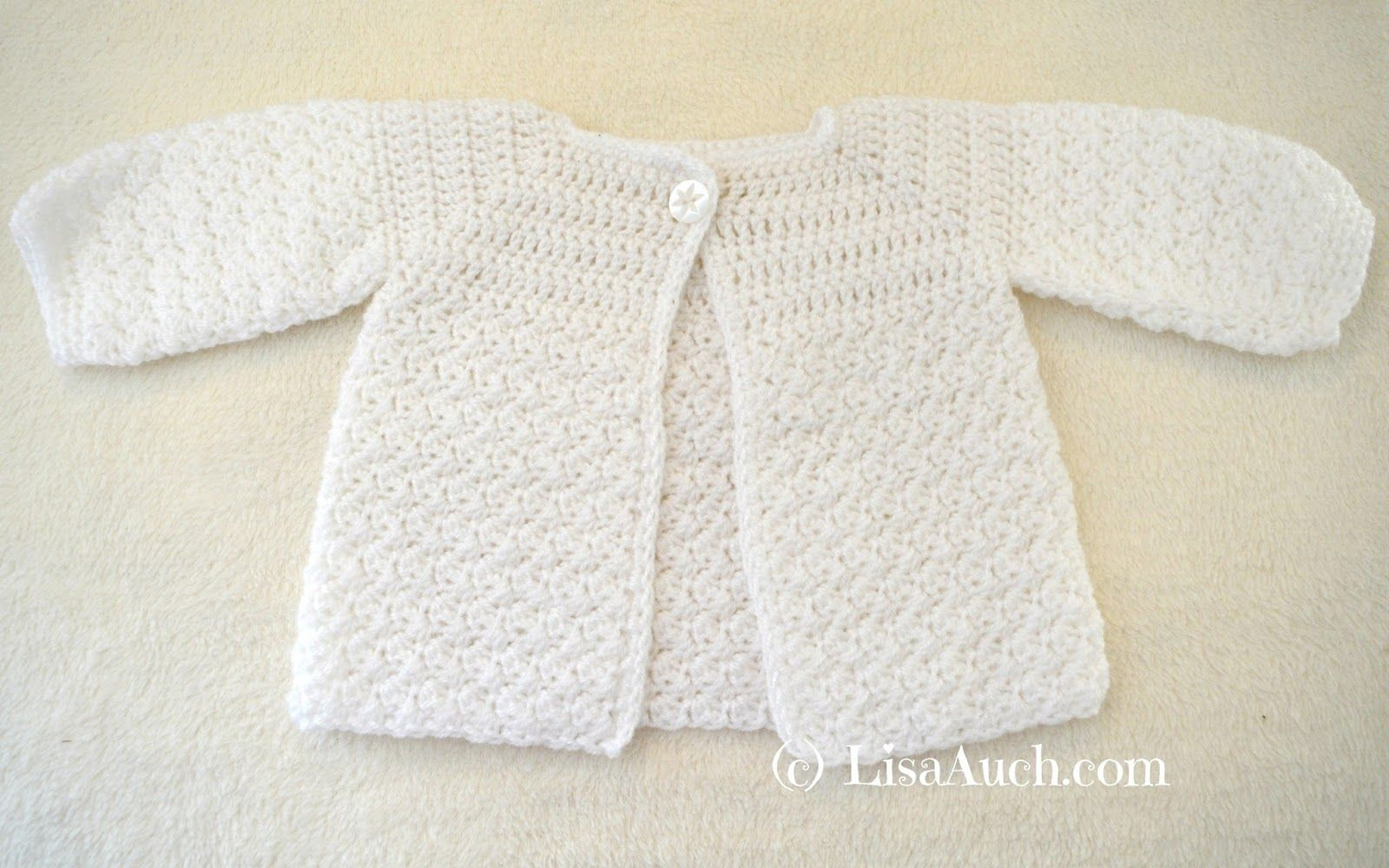 Crochet Baby Cardigan Easy Free Pattern Crochet Patterns