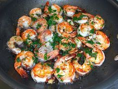 Knoblauch - Garnelen #shrimpscampi