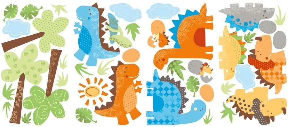Wall Transfers Dinosaur Google Search Housey Stuff Pinterest - Dinosaur wall decals nursery