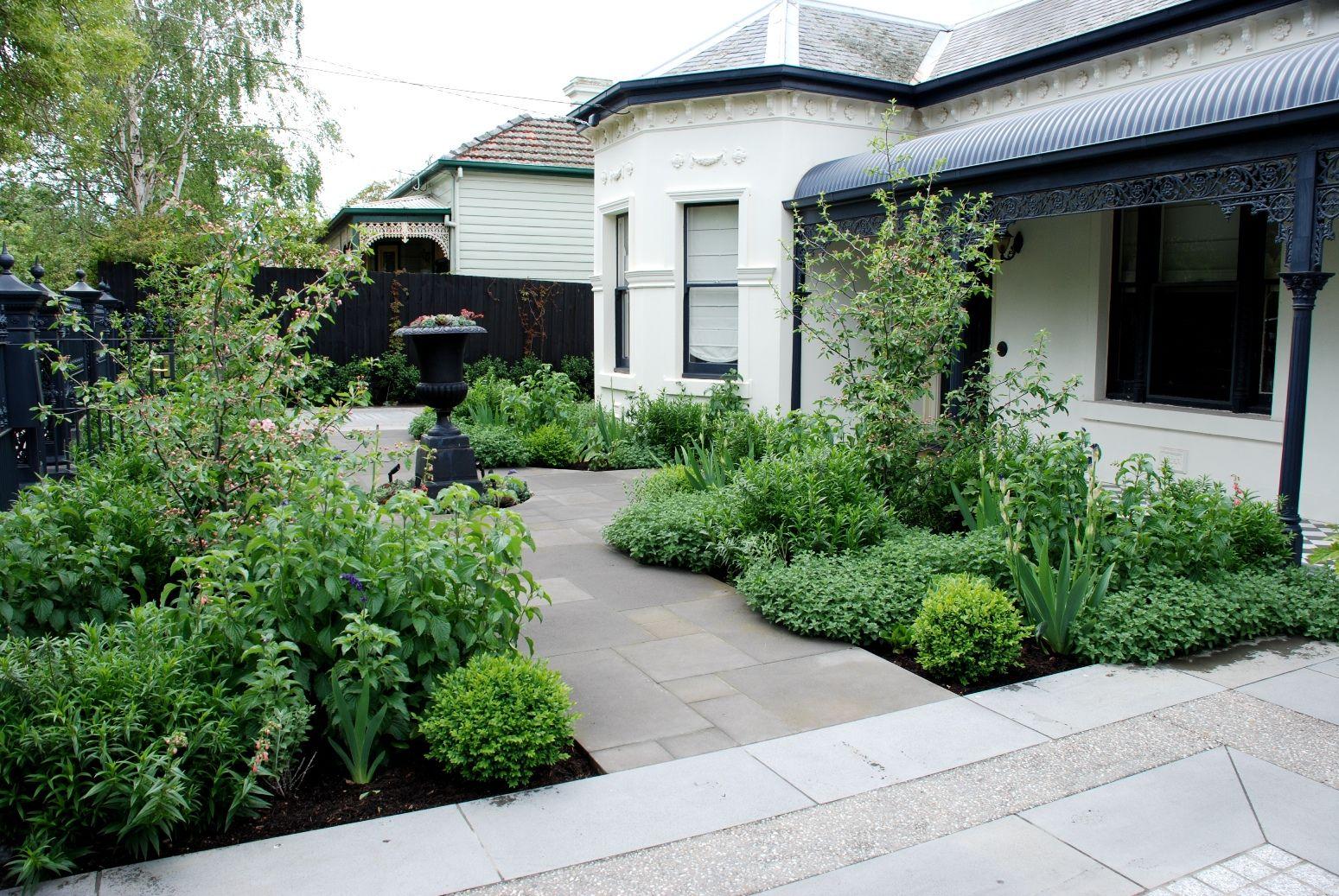 Front garden in Malvern, Melbourne. Designed by Jim Fogarty ...
