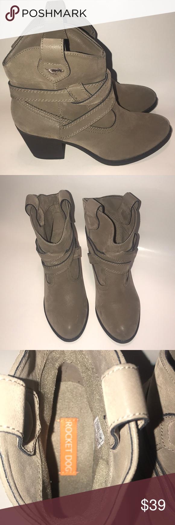 601904f2f9c Rocket Dog Women's boots color olive tan size 7 Rocket Dog Women's ...