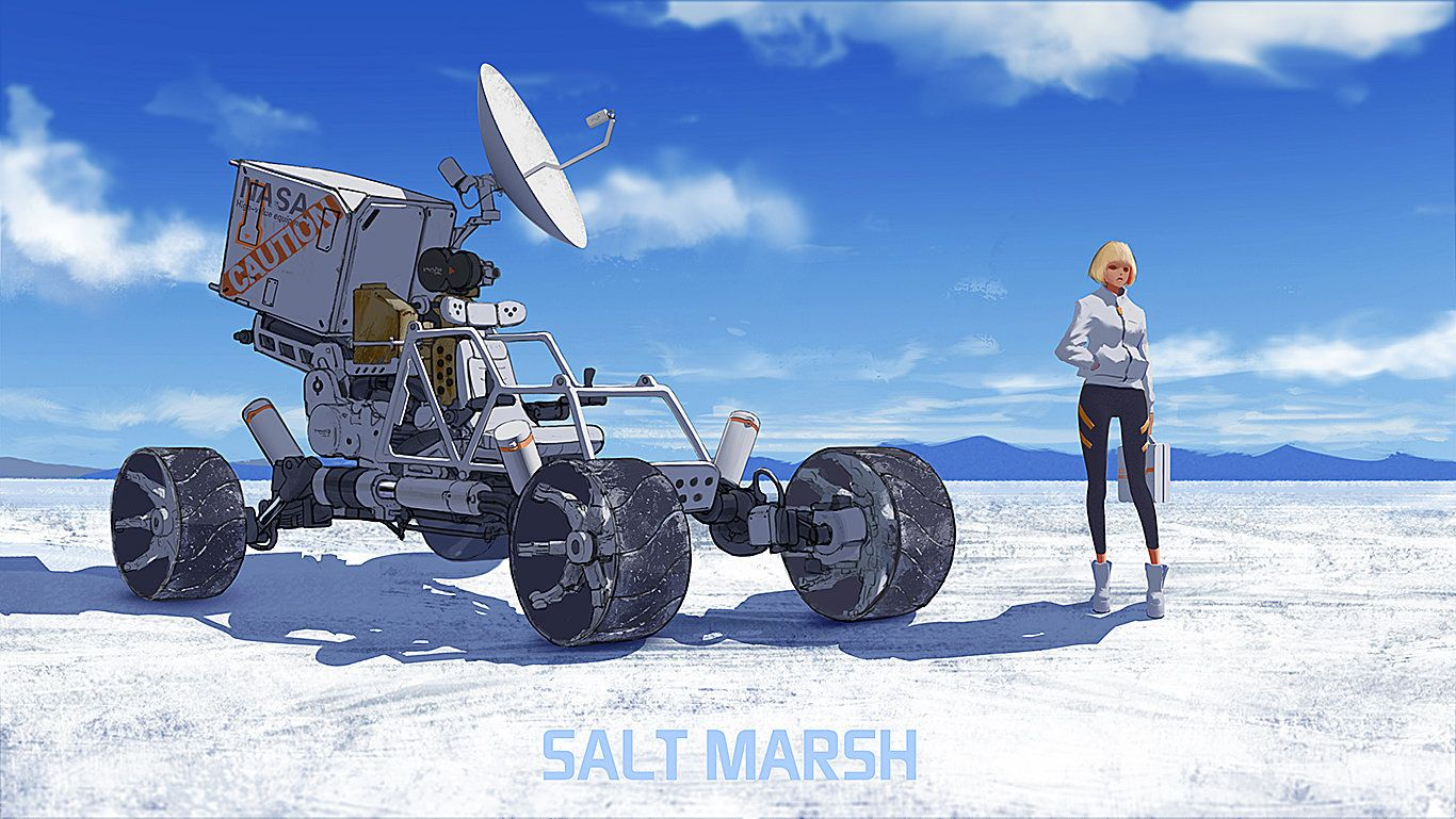 20141016SALTMARSH, qi wu on ArtStation at http://www.artstation.com ...