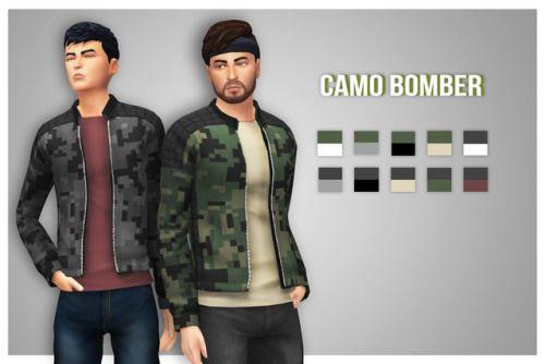 englishrosesims: Camo Bomber I was thinking      love 4 cc