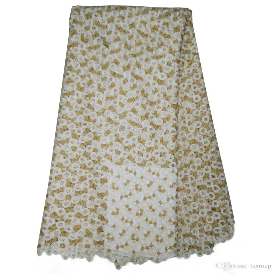 Greensleeves and yellow lace dress