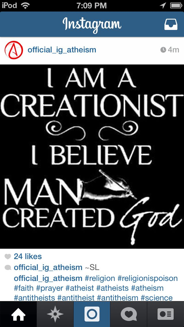 I am a creationist after all ;p