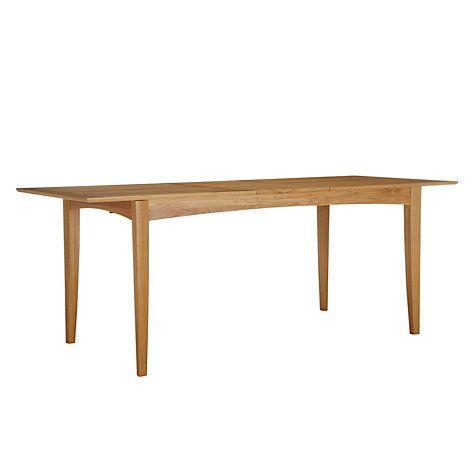 Astonishing John Lewis Partners Alba 6 8 Seater Extending Dining Table Theyellowbook Wood Chair Design Ideas Theyellowbookinfo