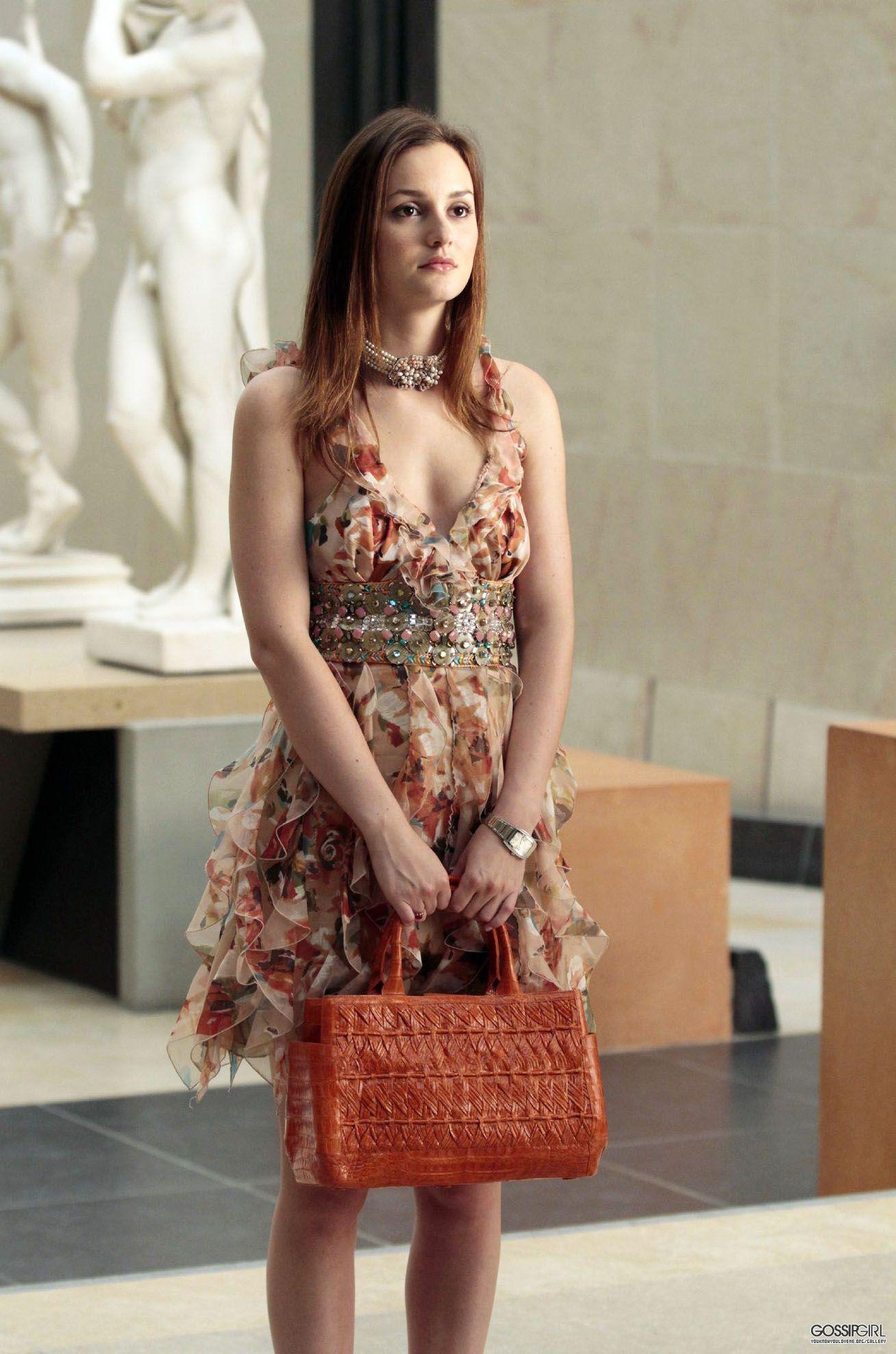 modern day princess Blair Waldorf in Paris / Gossip Girl