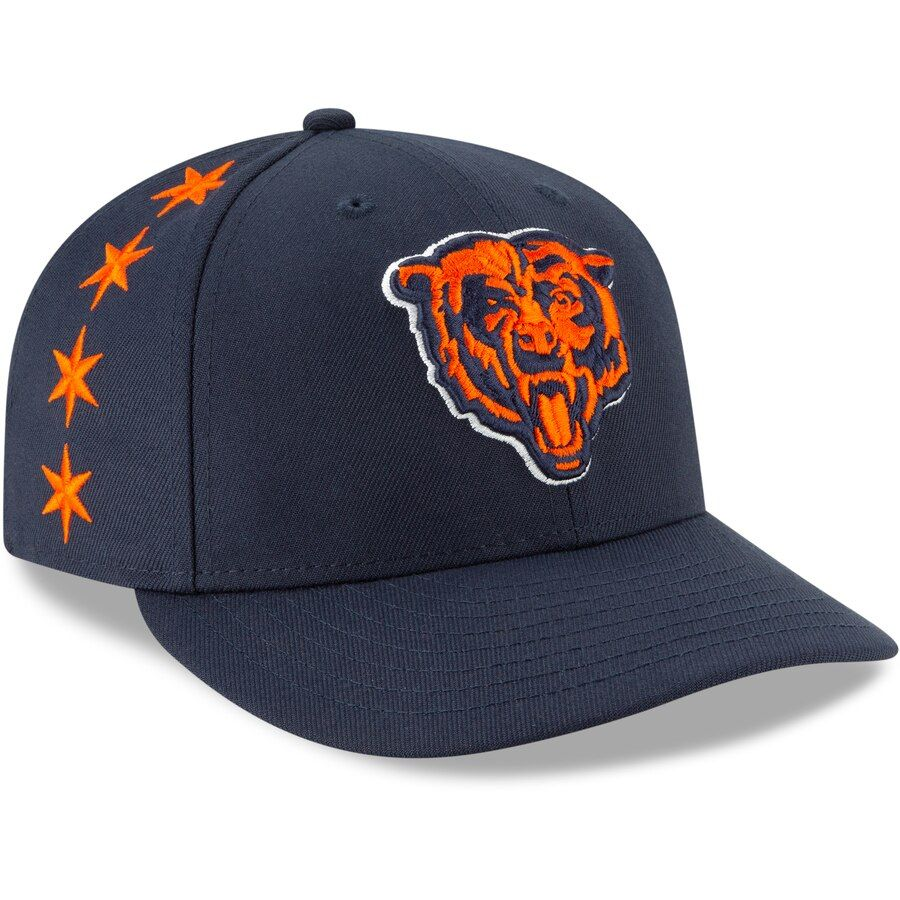 new arrivals size 40 outlet boutique Chicago Bears New Era 2019 NFL Draft On-Stage Official Low Profile ...