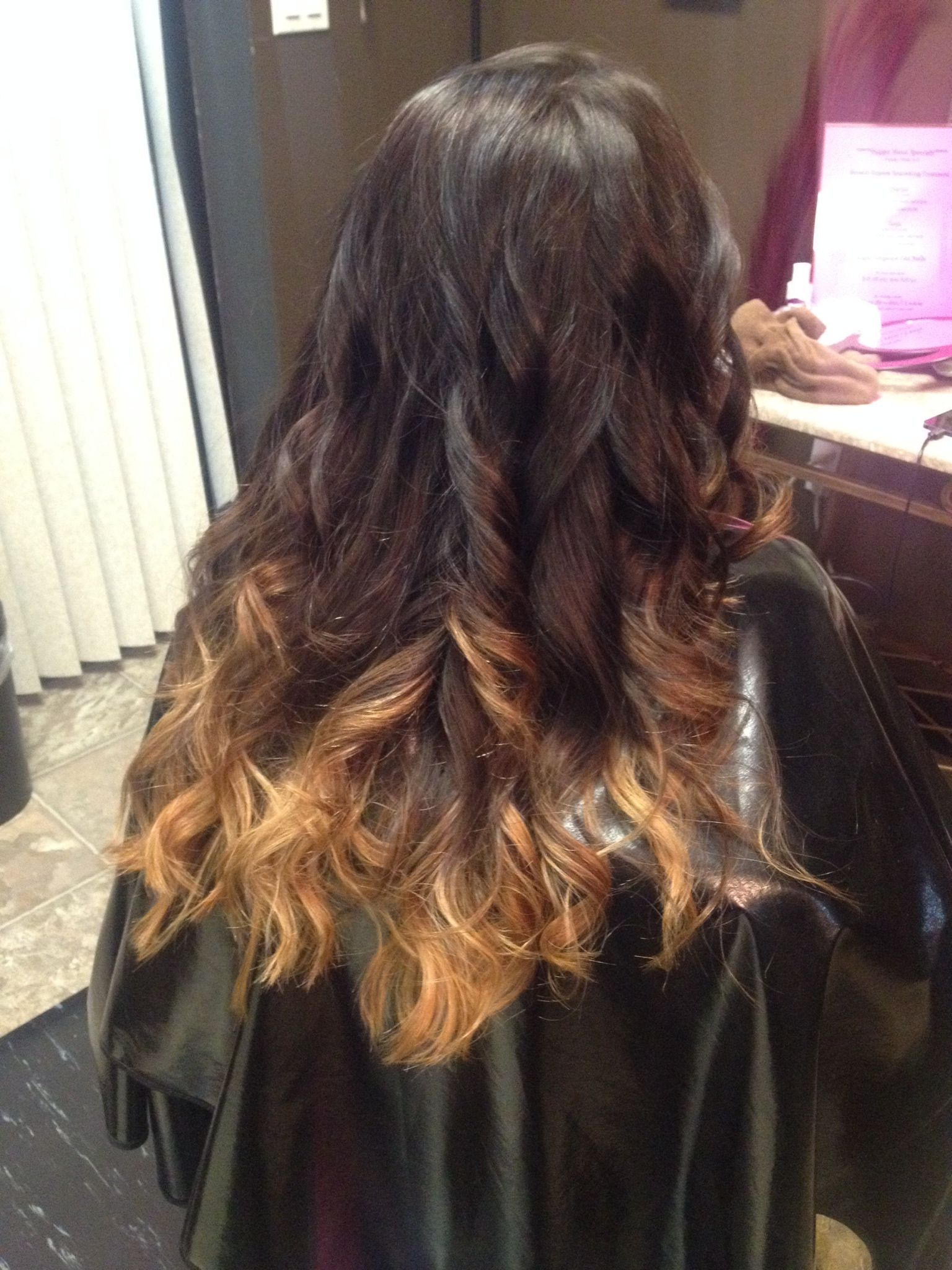 Low And Warm Ombr Hair By Jessica In Salem Oregon Hair By