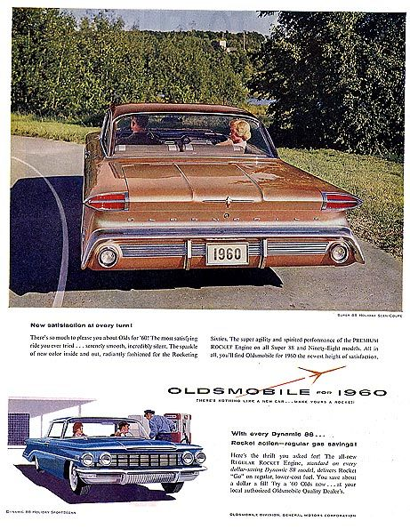 Oldsmobile 1960 | Dons cars | Cars, Retro cars, 70s cars