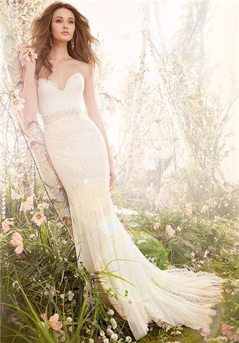 Jim Hjelm Wedding Dresses - The Knot #wedding #dress #bride #bridal #gown