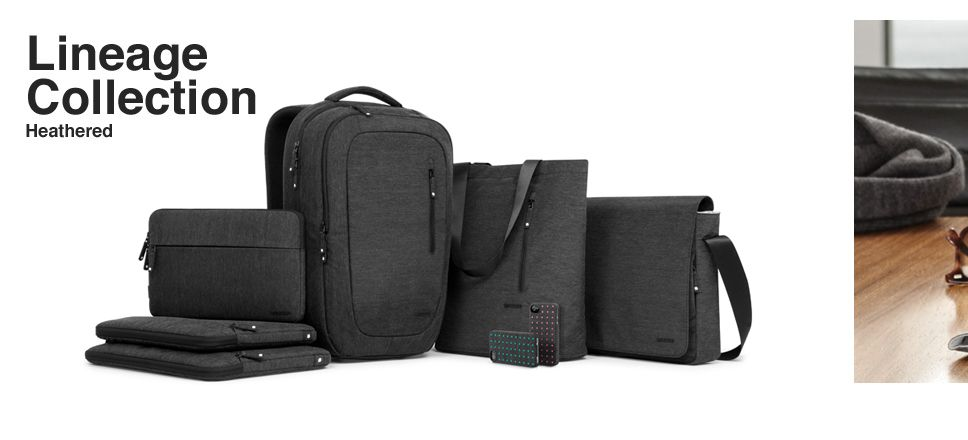 Heathered Collection by Incase. The First Family of Apple carrying cases.