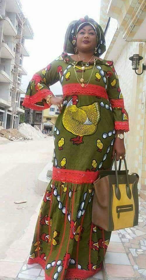 Robe Africaine, Mode Africaine