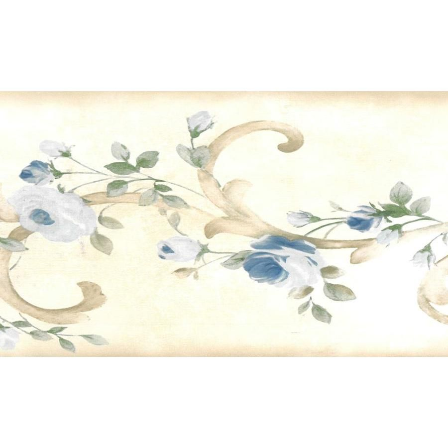 Dundee Deco 6 In Prepasted Wallpaper Border Lowes Com Wallpaper Border Prepasted Wallpaper Blue Wallpapers