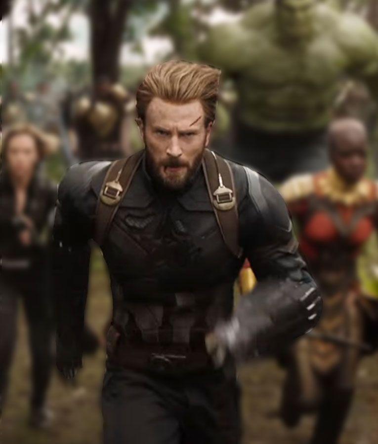 Resultado de imagen para capitan america chris evans infinity war