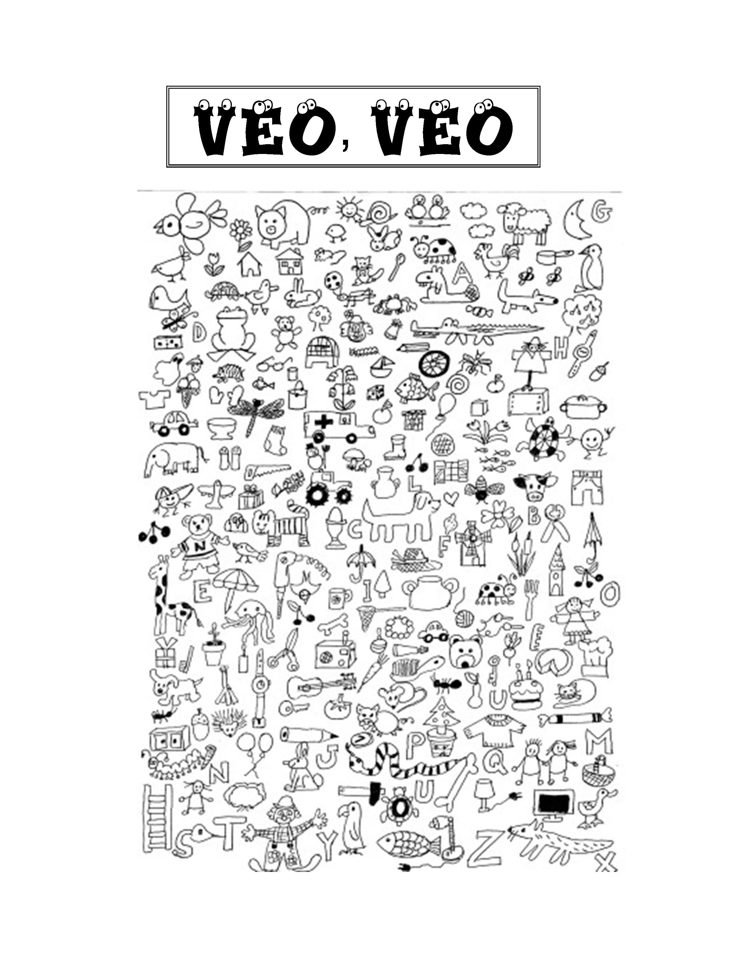 I Spy Game Veo Veo With Images