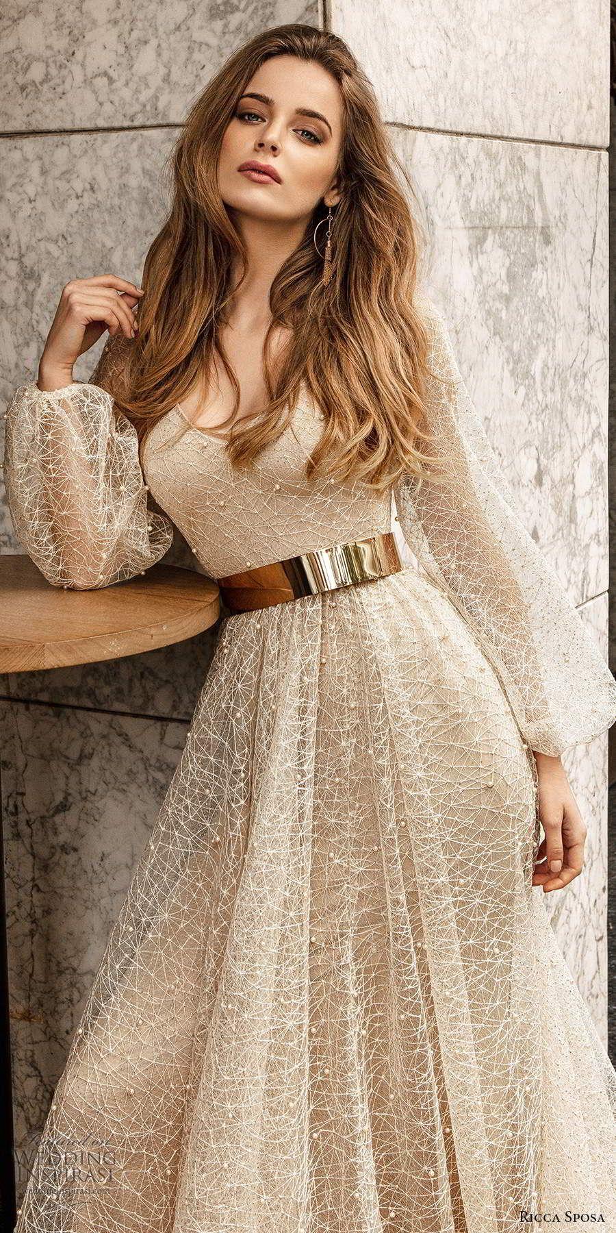 "Ricca Sposa Wedding Dresses 2020 — ""Barcelona"" Bridal Collection | Wedding Inspirasi"