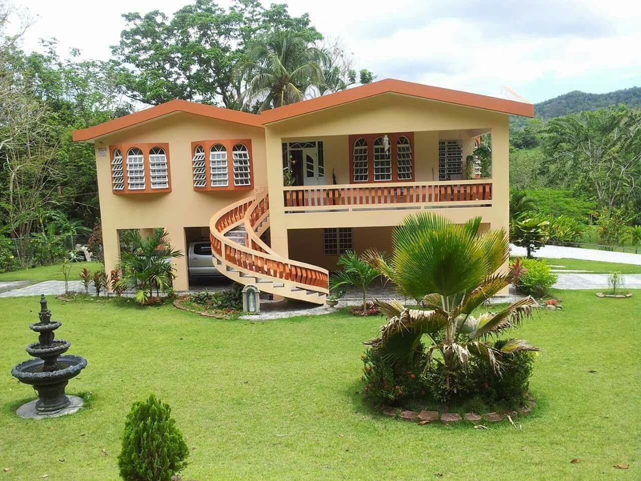 Casa en las montañas de Puerto Rico. (With images