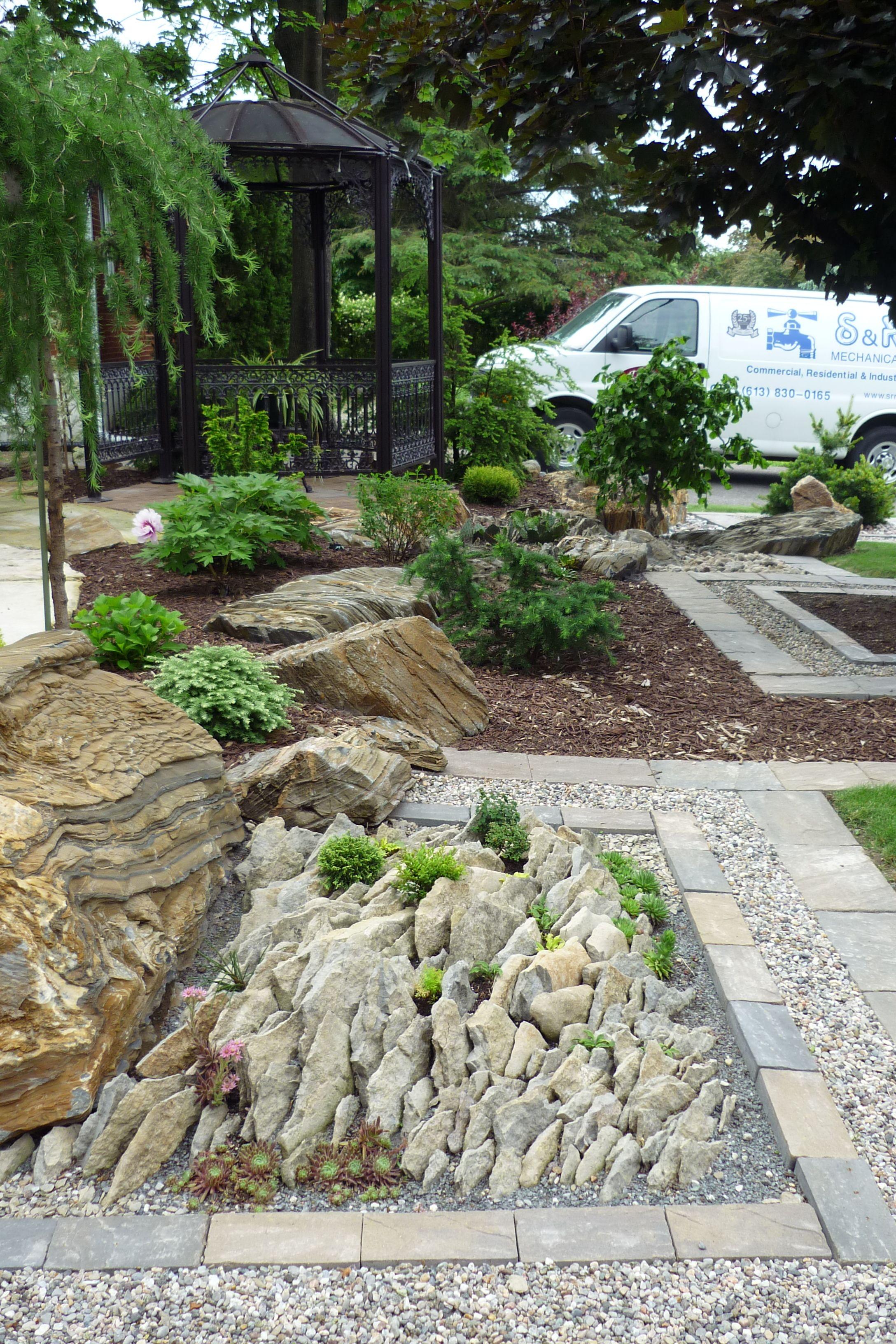 Hmm, no more mowing | Japanese garden, Rock garden, No ... on No Mow Backyard Ideas id=60637