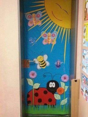 S per colecci n con m s de 100 puertas para nuestras for Puertas escolares decoradas