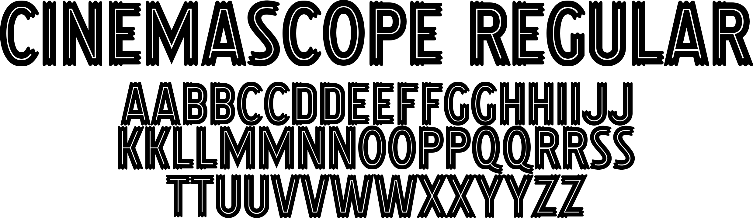 Cinemascope Font - Give your designs that marquee touch with this ...