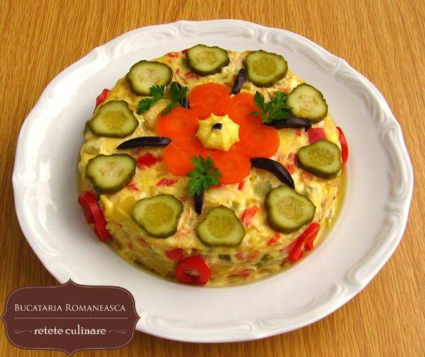 Salata de legume romanian recipes pinterest romanian food salata de legume romanian foodromanian forumfinder Choice Image