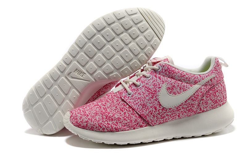 9af7019bc740 Sail Pink Force Nike Roshe Run Women s Shoes