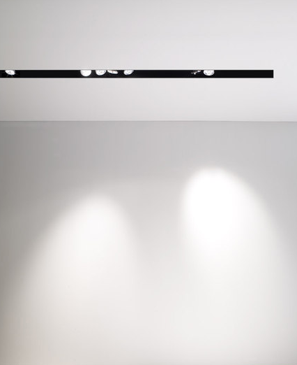 Linear Recessed Track Lighting To Provide Direct Lighting