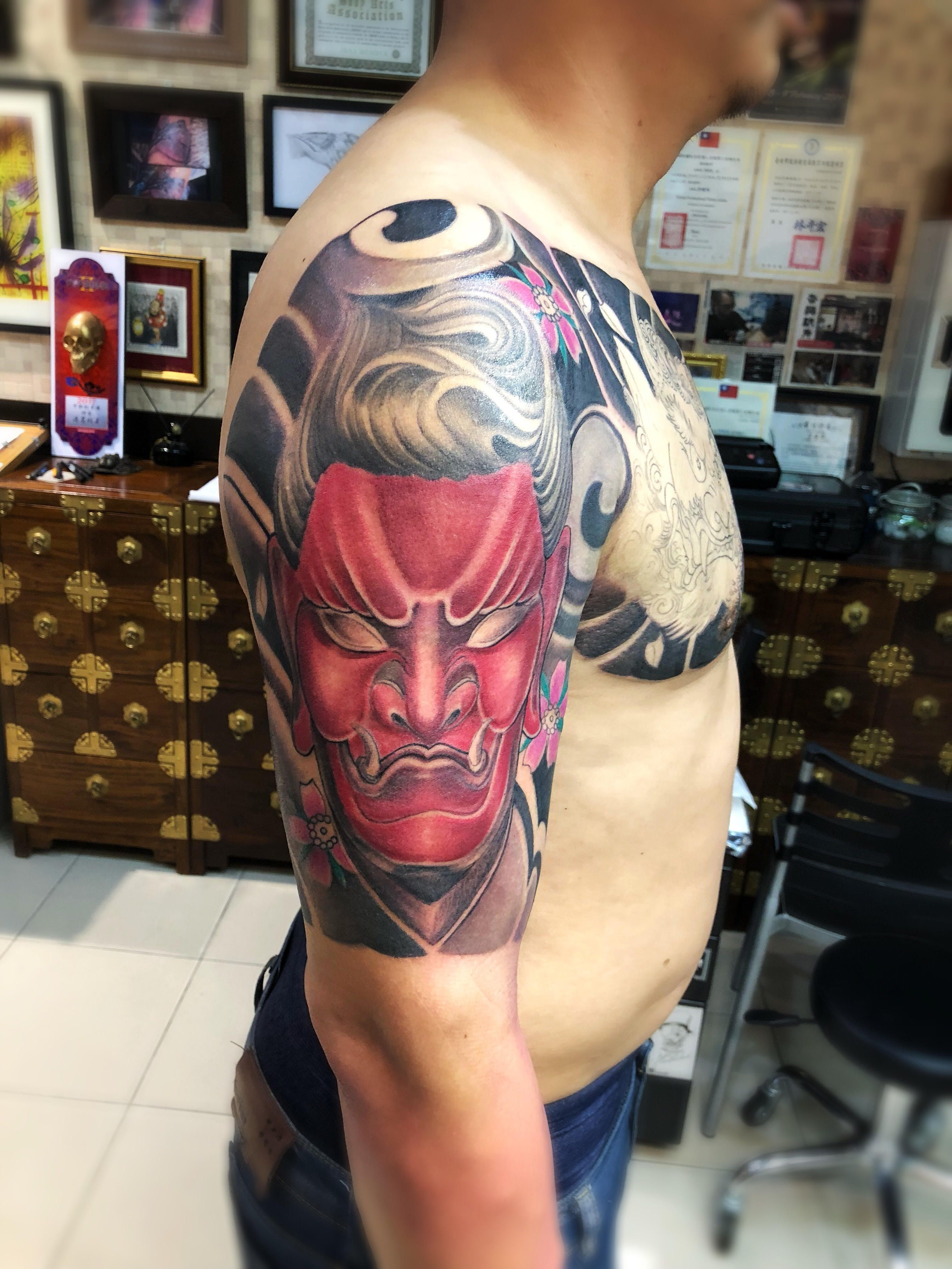 hkinkt2 @fusion ink one more session to go artist Michael Chan ...