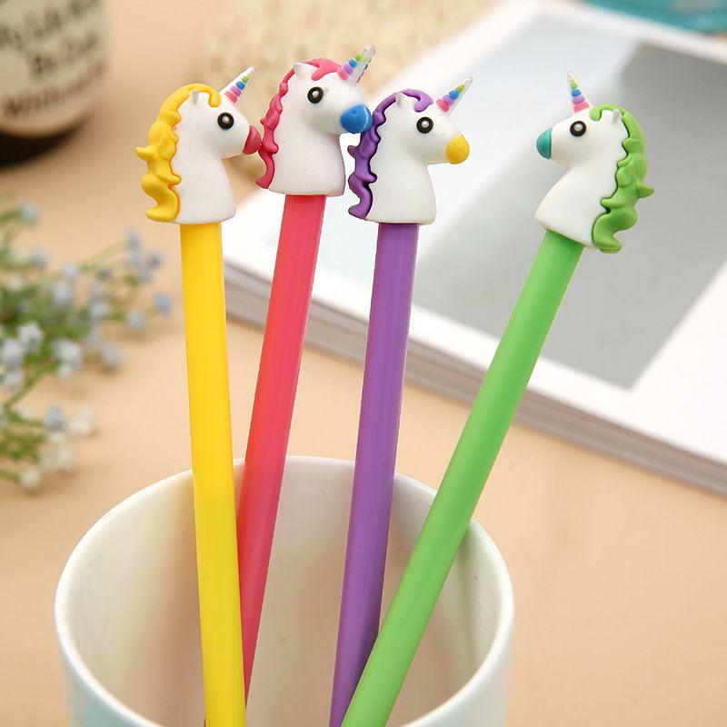 Acquistare pz lotto mm carino unicorno cartone animato penna