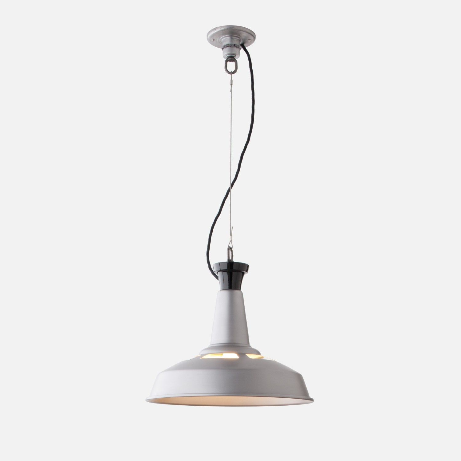 cable pendant lighting. Industrial And Utilitarian, The Factory Light No. 5 Cable Pendant Is A Perfect Example Of Traditional Factory-style Lighting Made Popular In Extra-wi